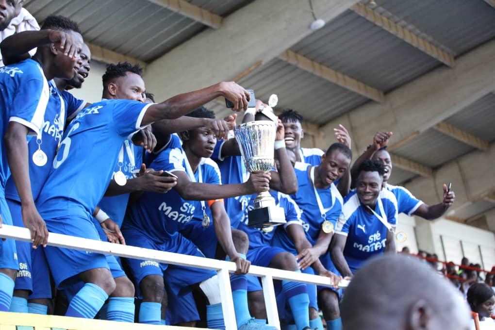 ASCK, vainqueur de la Coupe de l'indépendance